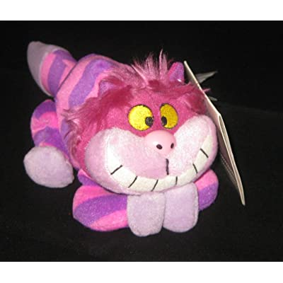Disney Cheshire Cat Bean Bag Plush Toy Alice In Wonderland: Office Products [5Bkhe1405489]