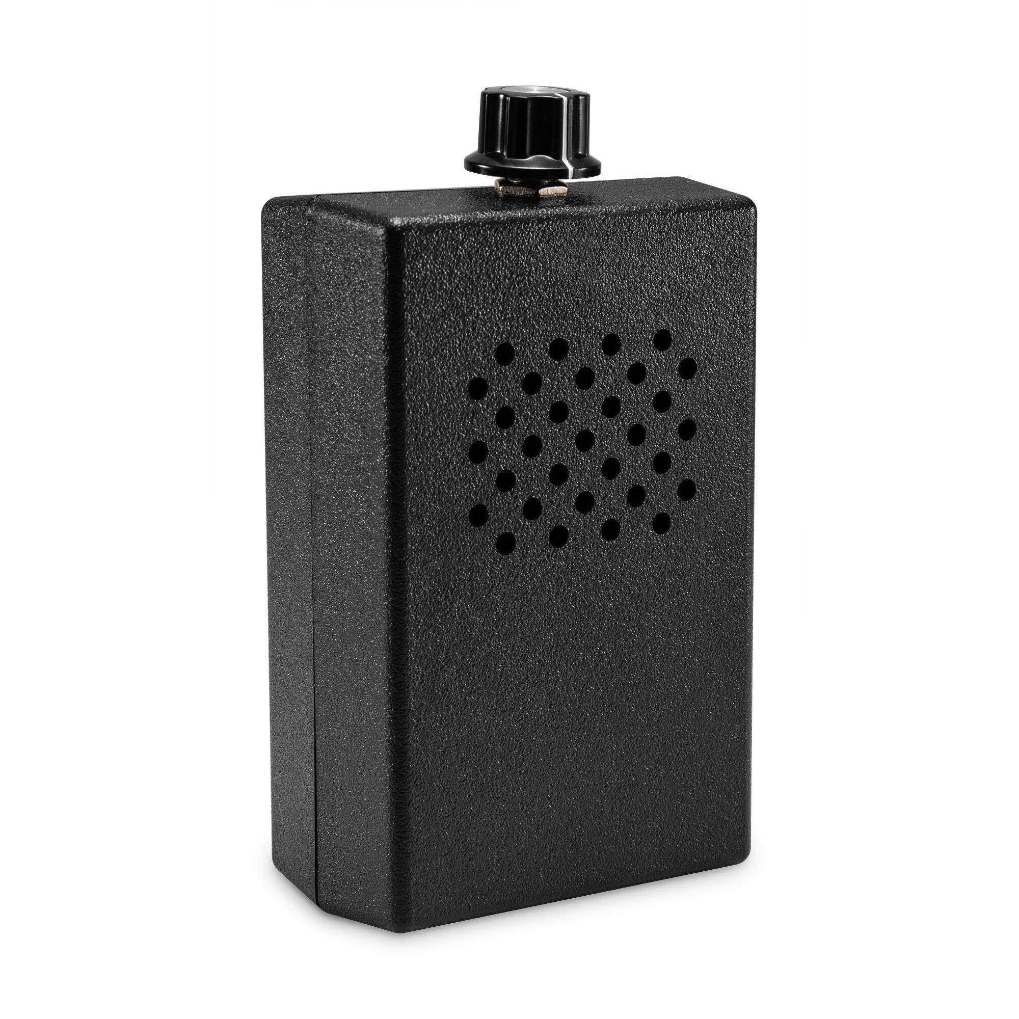 SpyTec LD-AJ1000 Audio Jammer Counter Surveillance Anti Eavesdrop White Noise Generator w/ 150 sq ft per unit range
