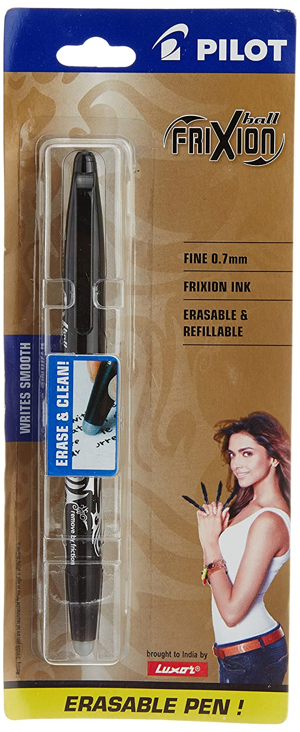 Pilot Frixion Roller Ball Pen, Black