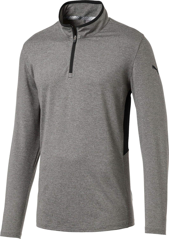 [プーマ] メンズ シャツ PUMA Men's Rotation Zip Golf Pullover [並行輸入品] S  B07TF5Y6HS