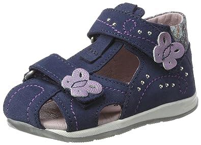Däumling Katharina, Chaussures Marche Bébé Fille, Bleu (Turino jeans42 42), 24 EU
