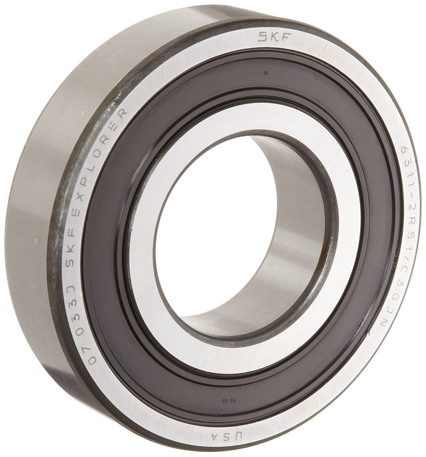 10 pcs 6203-2RSH SKF rubber seals ball bearing Made in France free shipping
