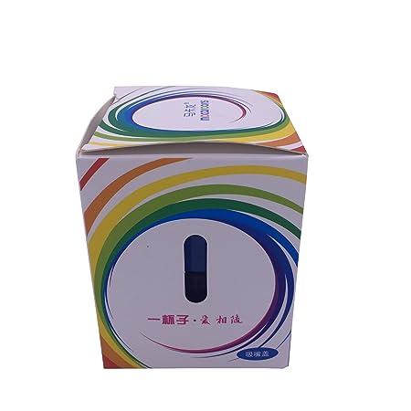 Macarons plegable deportes y masaje botella, sin BPA botella de silicona plegable reutilizable portátil potable vasos para viajero senderismo Camping ...