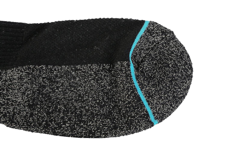 antideslizamiento calcetines tobillo Cobre calcetines antibacterianos atl/éticos para hombres y mujeres-humedad Wicking