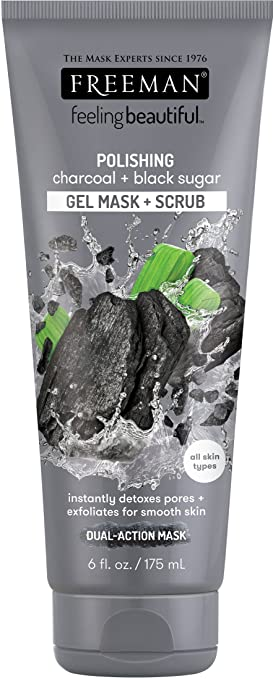 Product thumbnail for Freeman Charcoal and Black Sugar Polish Mask