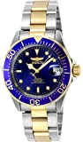 Invicta Unisex Pro Diver Automatic Watch with Analogue Display and Stainless Steel Bracelet