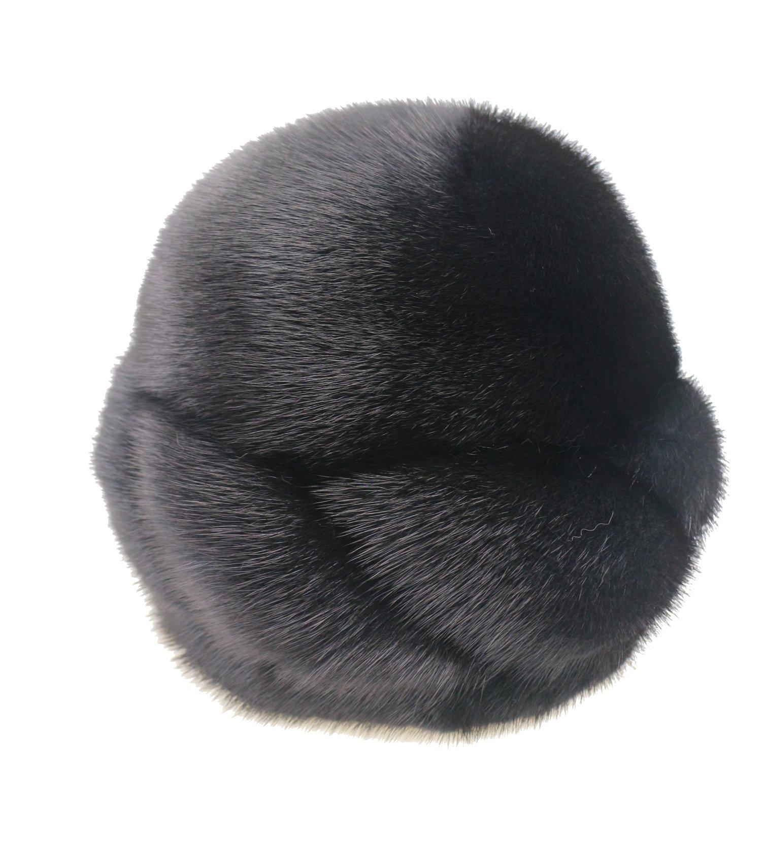 Ysting Whole Set of Mink Fur Hat For Women New Designer