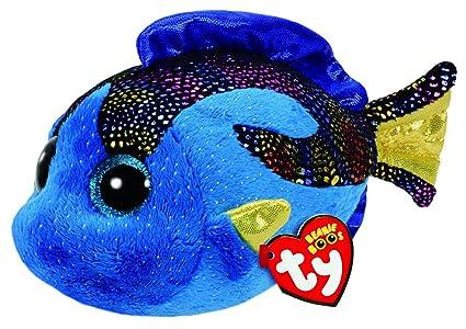 Amazon.com  Ty Beanie Boos - AQUA the Fish (Glitter Eyes) (Regular ... 50cbffcbd5bb