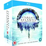 Stargate Atlantis-The Complete Series [Reino Unido] [Blu-ray]