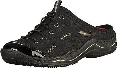 Rieker Schuhe Damen Sabot auch für lose Einlagen Gr L0555 00