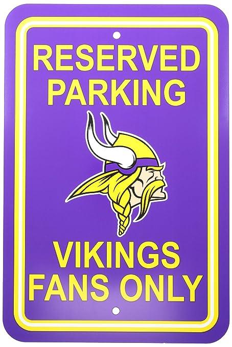Amazon.com   Fremont Die NFL Minnesota Vikings Reserved Parking Sign ... 4b7e364ee