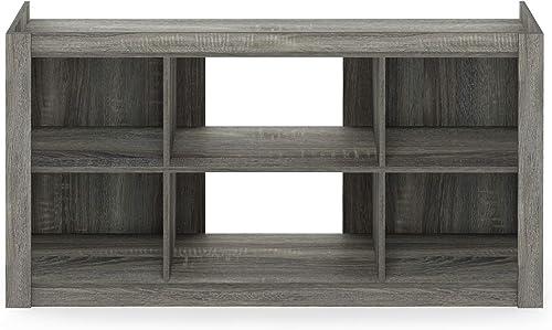 Furinno Fowler Multipurpose TV Stand Bookshelves