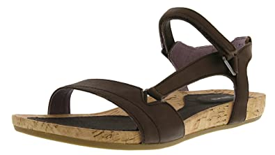 Teva Women's Capri Universal Sandal, Pearlized Chocolate, ...