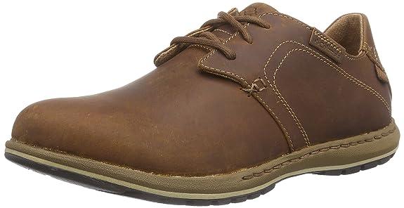 Columbia Davenport, Zapatos de Cordones Brogue para Hombre, marrón-Braun (Elk/Nutmeg 286), 48 EU: Amazon.es: Zapatos y complementos