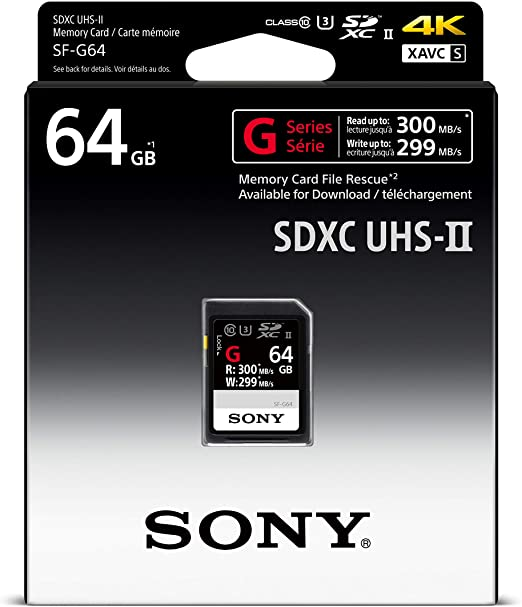 Sony 32GB UHS-II SD Memoria Flash SDHC Clase 10 - Tarjeta de ...