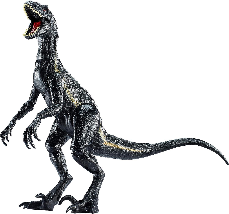 "Black Indoraptor Dinosaurs Action Figure 6/"" Tyrannosaurus Velociraptor Model"