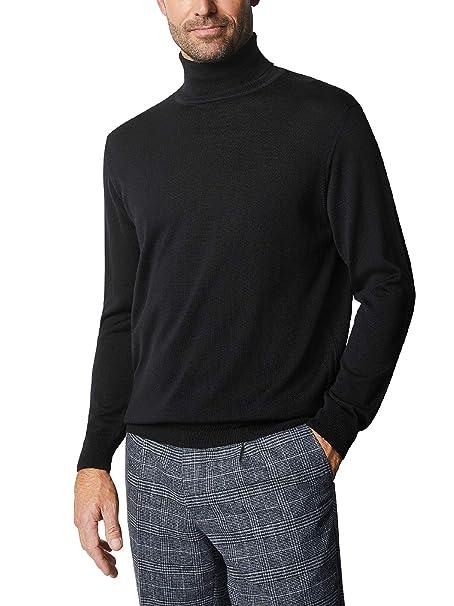 Walbusch Herren Baruffa Rollkragen-Pullover einfarbig  Walbusch  Amazon.de   Bekleidung 41f188d491