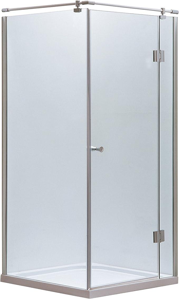 Mampara de ducha cabina de ducha cuadro entrada por la esquina ...