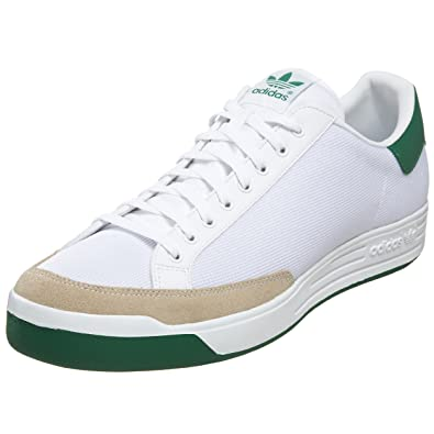 new arrival 9885c 085ba adidas Originals Men s Rod Laver Tennis Shoe,Running White Green, ...