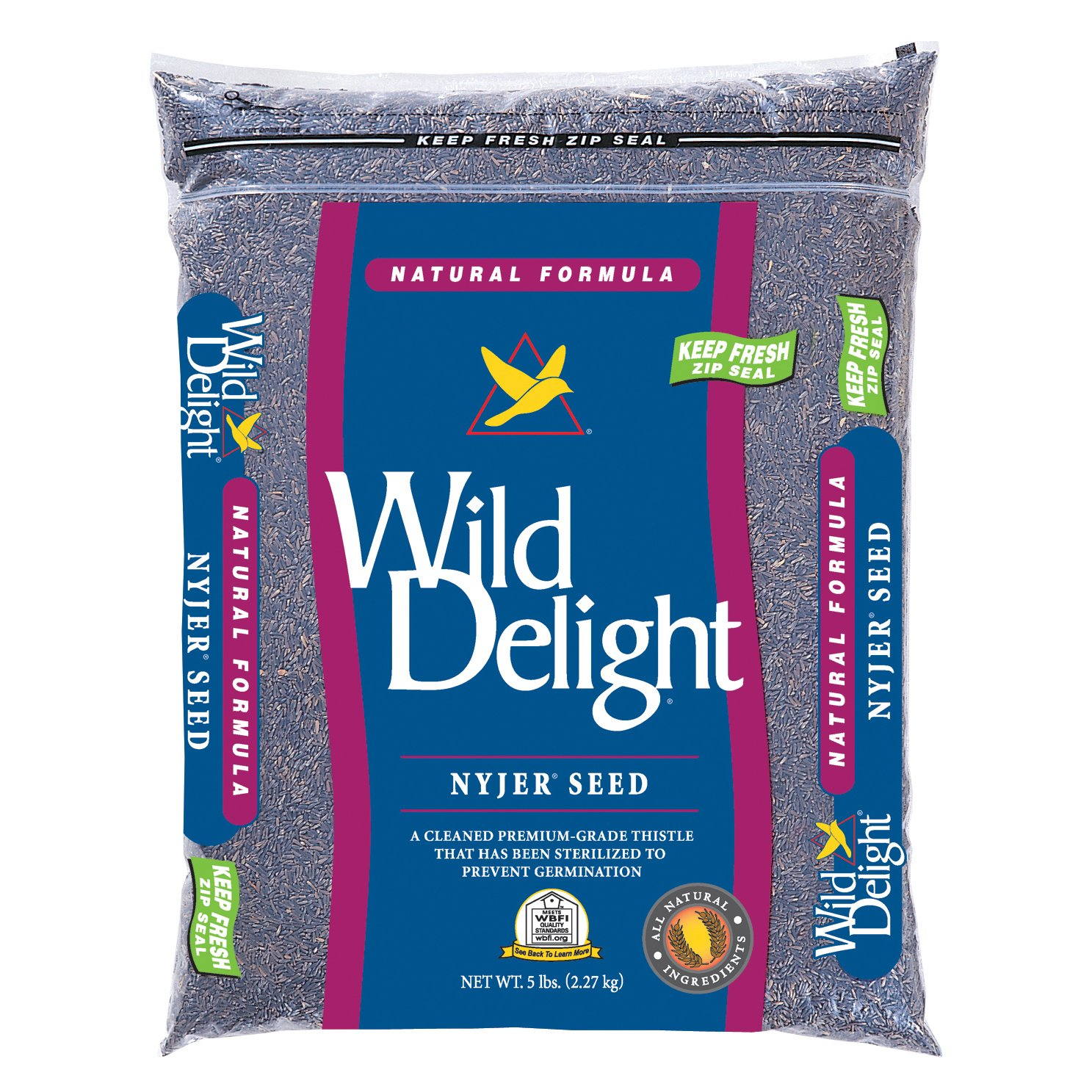 Wild Delight Nyjer Seed, 5 lb by Wild Delight