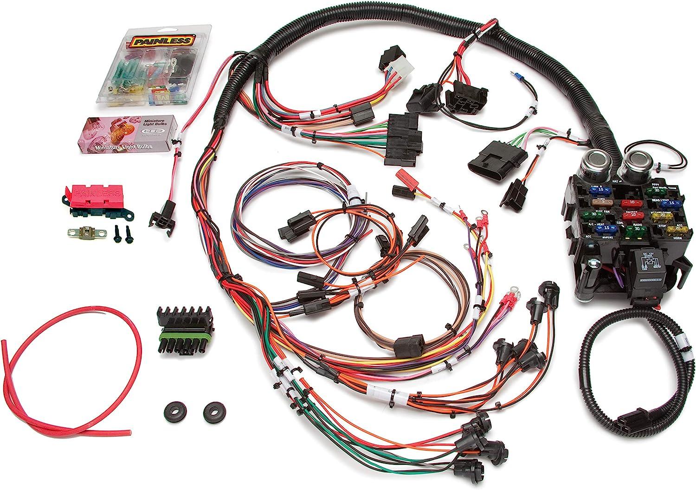 1984 jeep cj7 dash wiring diagram amazon com painless performance 10150 direct fit jeep cj harness  10150 direct fit jeep cj harness