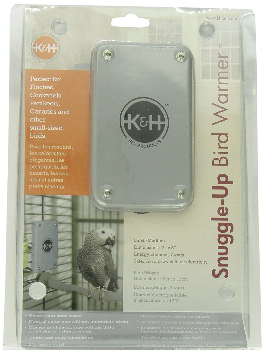 K&H Pet Products K&H Manufacturing Snuggle Up Bird Warmer