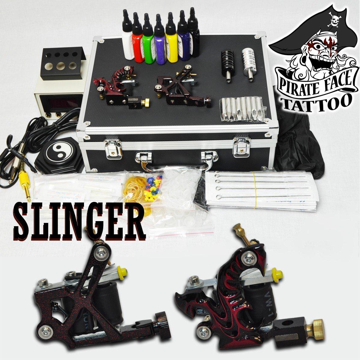 Amazon.com: SLINGER BASIC Tattoo Kit by Pirate Face Tattoo / 2 ...