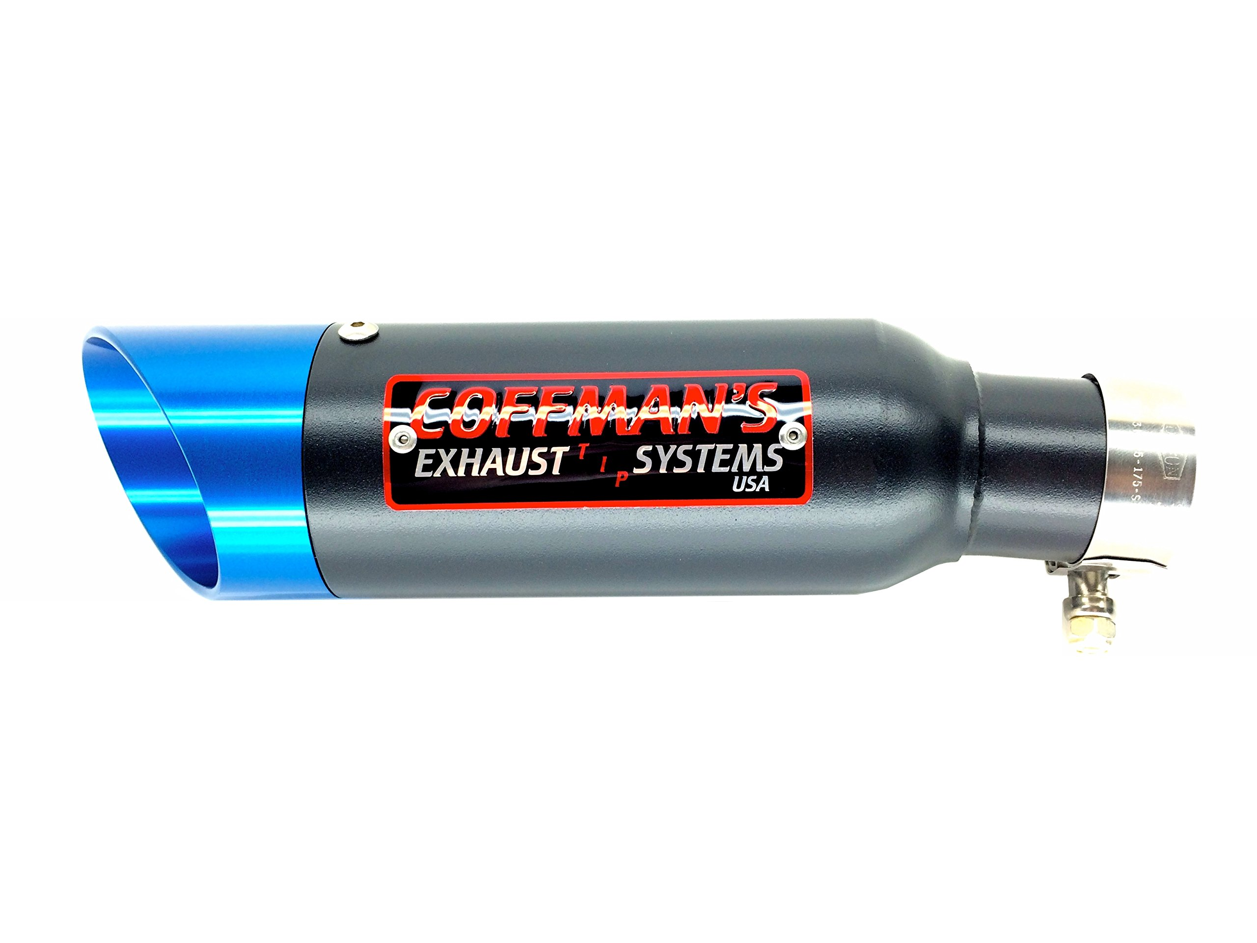 Coffman's Shorty Exhaust for Honda CBR500R (2013-16) Sportbike with Blue Tip by Coffman's