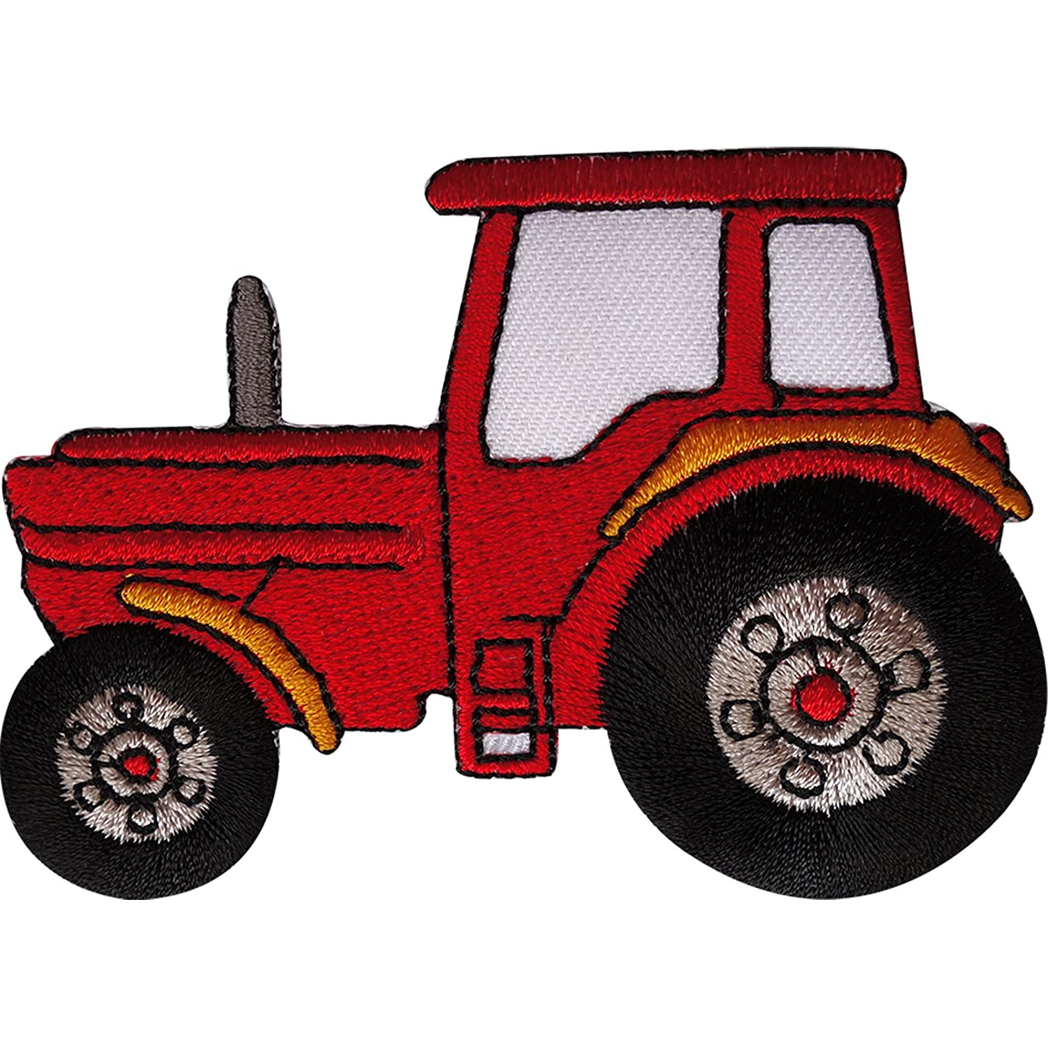 Tractor Patch Embroidered Badge Iron Sew On T Shirt Jeans Embroidery Applique