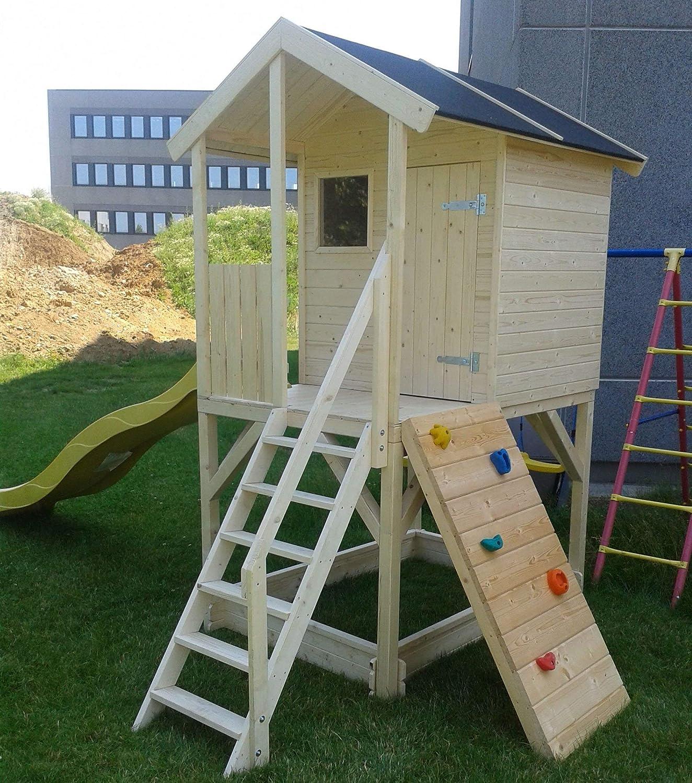 Niños casa de juguete Alida de madera 382 x 257 (H) cm: Amazon.es: Bricolaje y herramientas