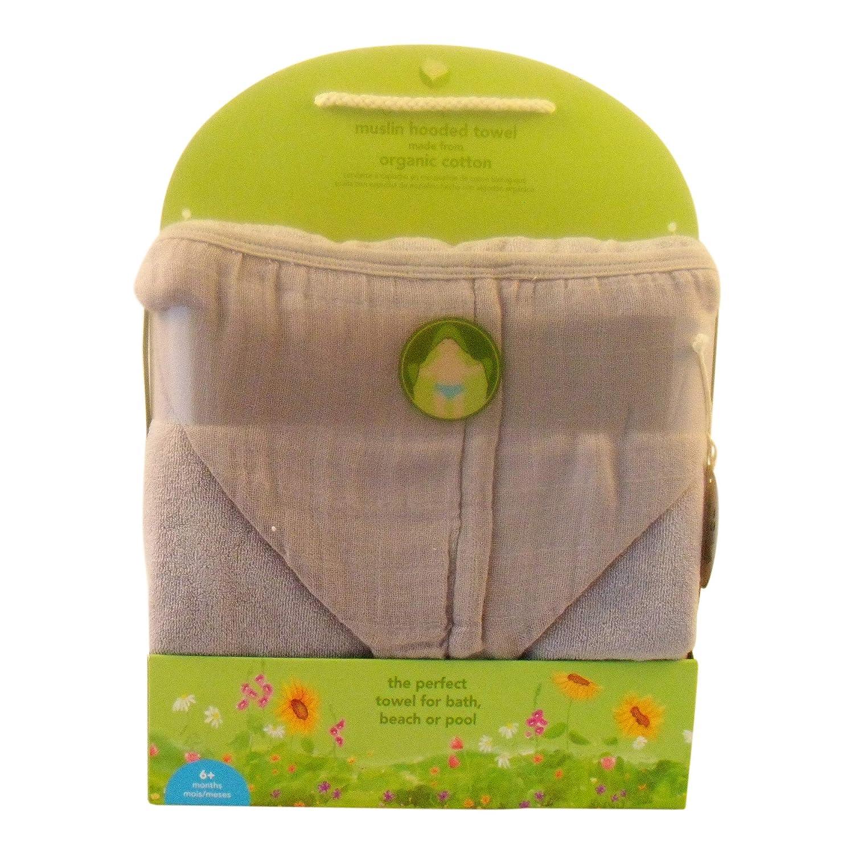 Amazon.com : Nine Piece Baby Bundle: Muslin Hooded Towel, Muslin Washcloths (4), Heather/White Stripe & White Bodysuits, Brush & Comb, Nasal Aspirator, ...