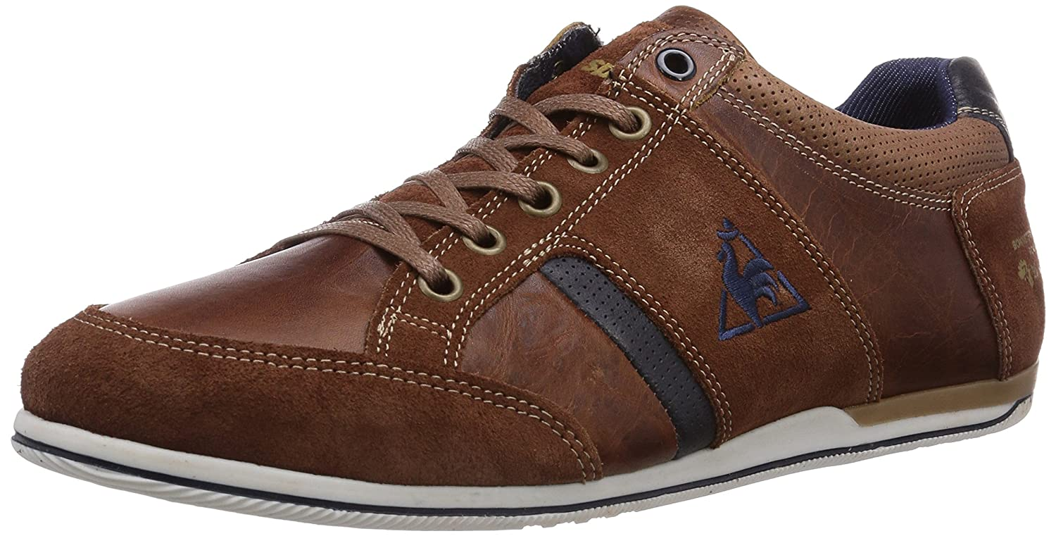 489126e0a83f Le coq Sportif Mens ANTOINE LOW High-top trainers Brown Braun (TORTOISE  SHELL) Size  16  Amazon.co.uk  Shoes   Bags