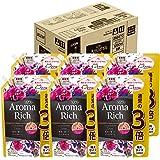 【ケース販売 大容量】ソフラン アロマリッチ 柔軟剤 ジュリエット(スイートフローラルアロマの香り) 詰め替え 特大1200ml×6個
