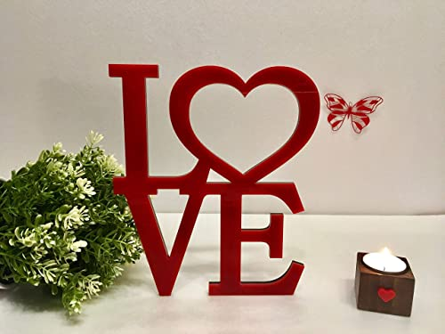 Engraved Personalised st valentine/'s day Acrylic love heart,keepsake gift in box