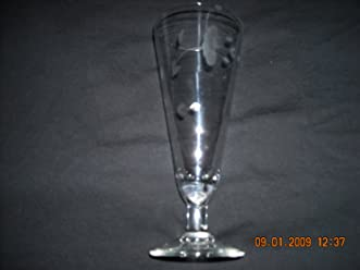 Princess House Crystal Pilsner Glass