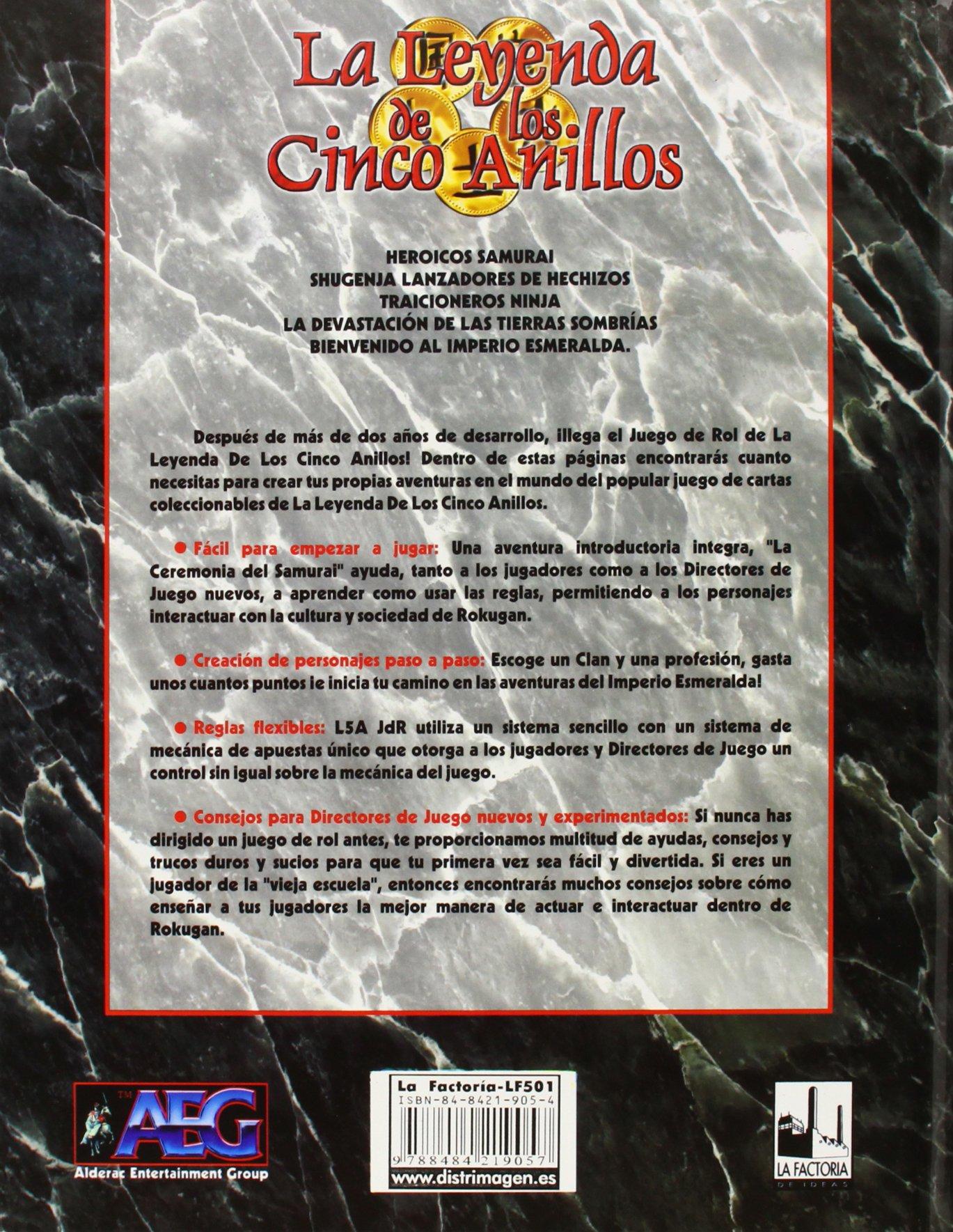 La leyenda de los 5 anillos: 9788484219057: Amazon.com: Books