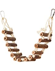 Prevue Hendryx 62806 Naturals Rope Ladder Bird Toy, 20""