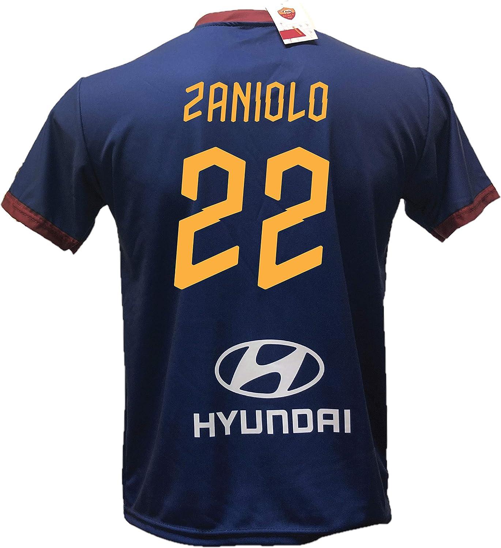 DND Di DAndolfo Ciro Seconda Maglia Calcio Roma Blu Zaniolo 22 ...