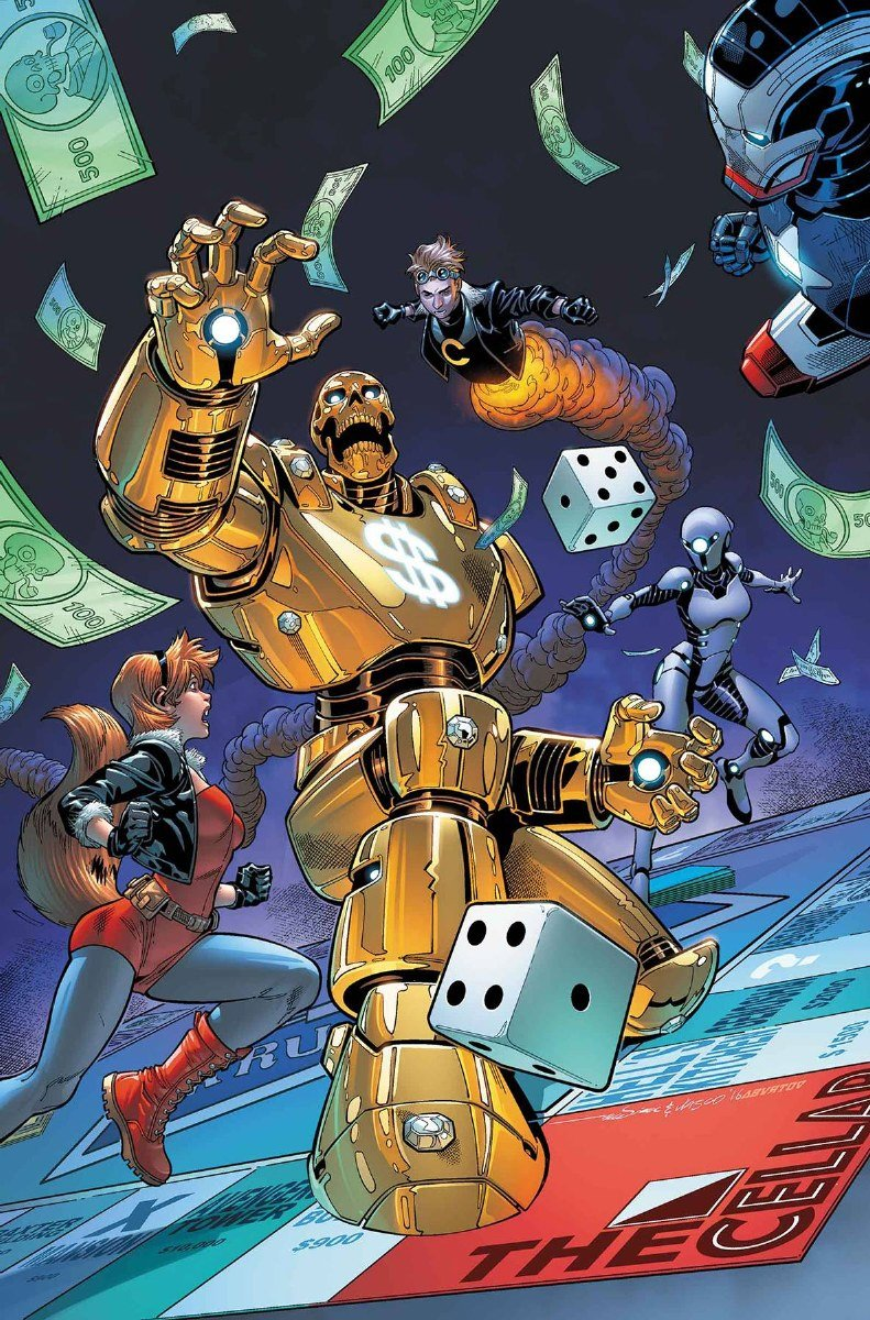 Read Online Us Avengers #3 pdf