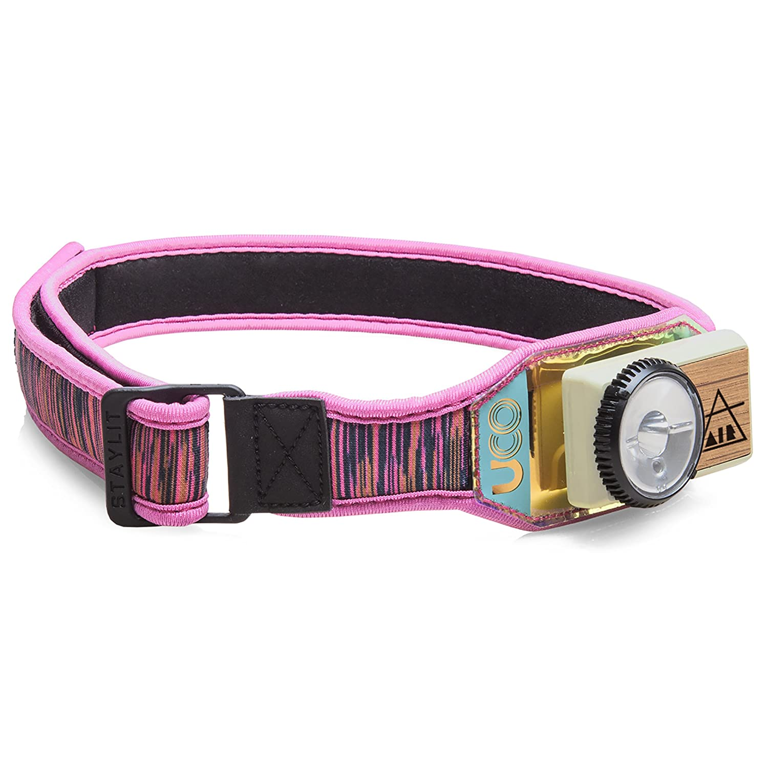 UCO Air 150 Lumen Lightweight Rechargeable LED Headlamp with Variable Brightness Dial Control and Adjustable Strap