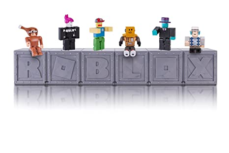 Amazoncom Roblox Series 1 Mystery Figure Six Pack Toys Games