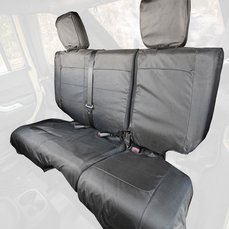 Rugged Ridge 13266.05 Ballistic Seat Cvr Rear Blk 840D 07-10 JK 2Dr