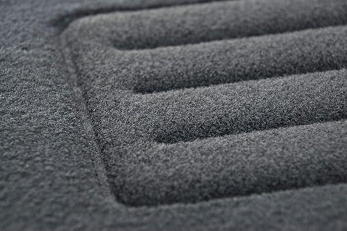 2010-2016 Basic CARMAT TEXER Textil Fu/ßmatten Passend f/ür Kia Sportage III Bj