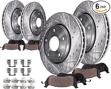 For Nissan 350Z 370Z Maxima Infiniti G35 G37 M35 M45 EX35 Rear Brake Rotors DAC