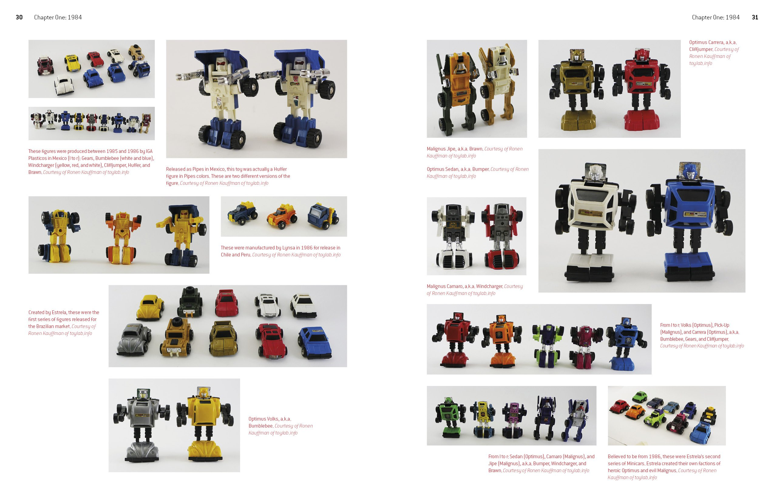 100/% Unofficial 80s Toy Collectors Guide Any 7