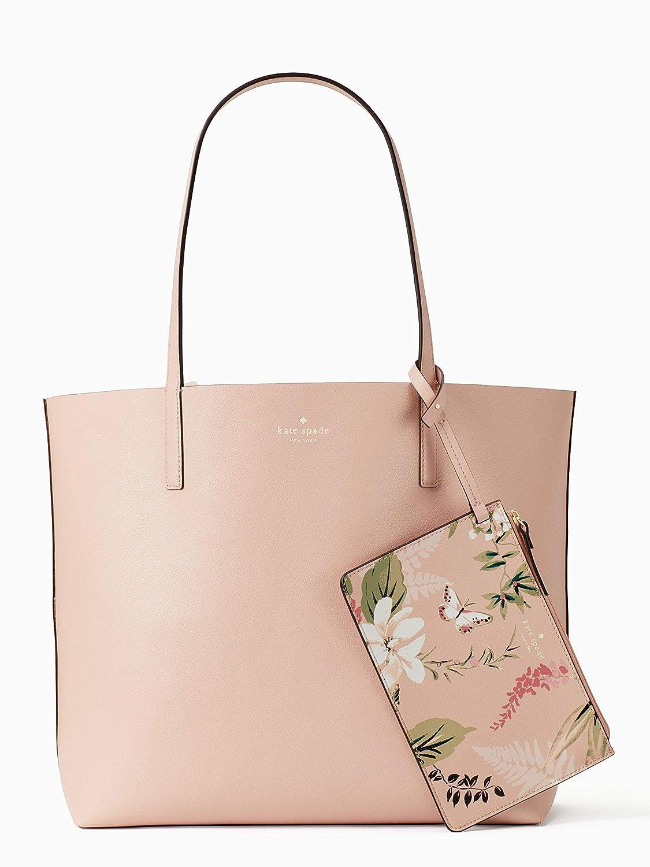 efead0902c7b2 Amazon.com: Kate Spade Arch Place Mya Fabric Stripe Reversible Leather  Handbag: Shoes