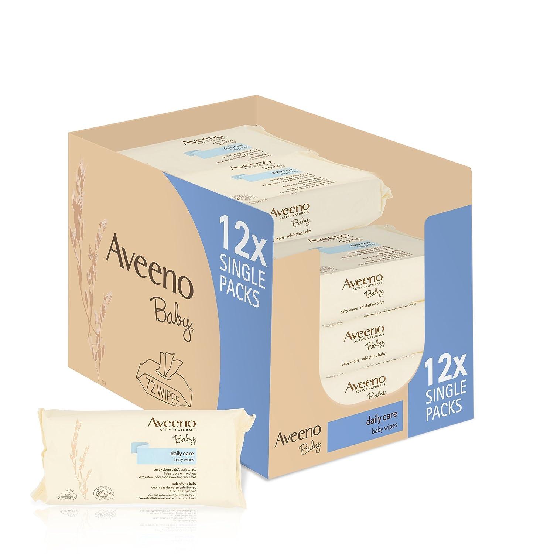 Aveeno Baby Wipes, 288-Count, 4 Pack Johnson & Johnson 95808