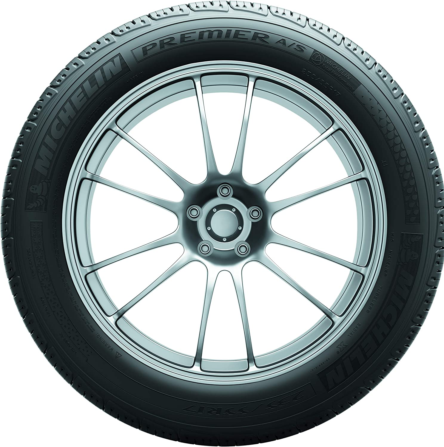 205//50R17//XL 93V Michelin Premier A//S Touring Radial Tire
