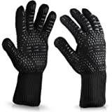 BBQ Cooking Glove 932°F Extreme Heat Resistant oven gloves For Cooking, Grilling, Baking