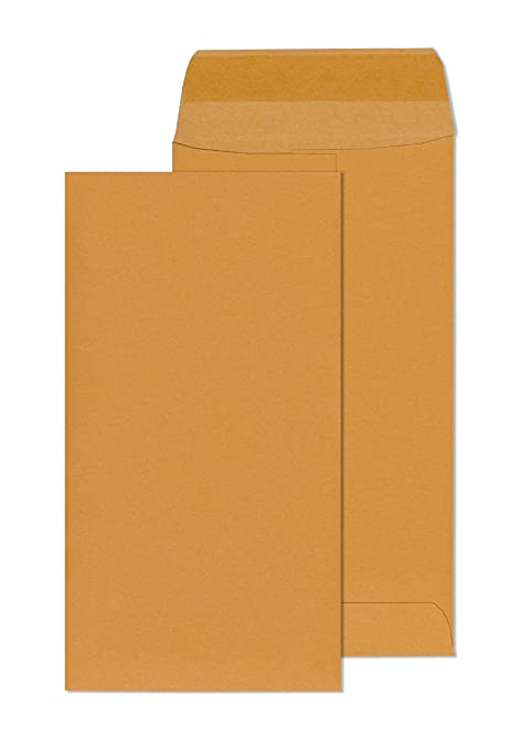 ENVELOPE BROWN 10.5X4.5